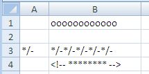 Excel Rept Function Results
